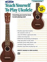 Alfred's Teach Yourself To Play The Ukulele: Book & CD & DVD