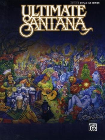 Ultimate Santana: Guitar Tab: Book & CD