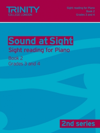 Trinity College London Sound At Sight Piano Book 2: Grade 3-4 (Second Series)