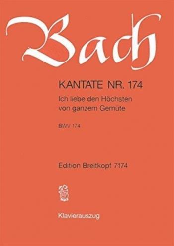 Cantata: Bwv174: Vocal (Breitkopf)