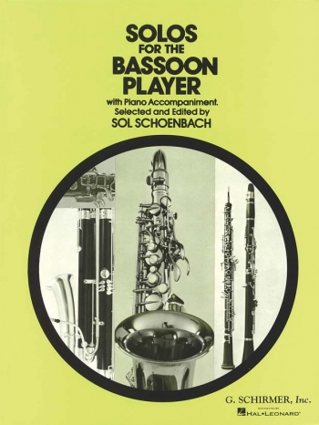 Solos For The Bassoon Player: Bassoon & Piano (Schirmer)