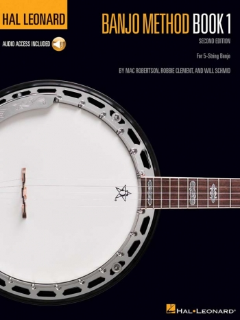 Hal Leonard Banjo Method: Book 1: Book And Cd