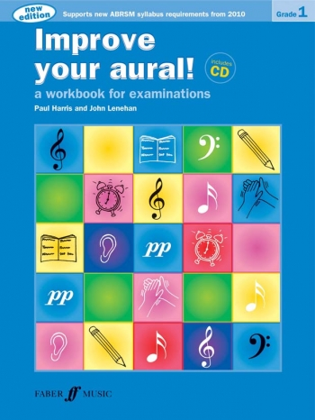 Improve Your Aural Grade 1: Book & CD  (New Edition From 2010-2011) (Paul Harris)
