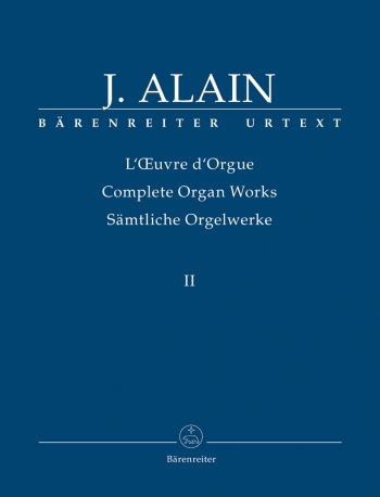 Complete Organ Works: Vol.2  (Barenreiter)