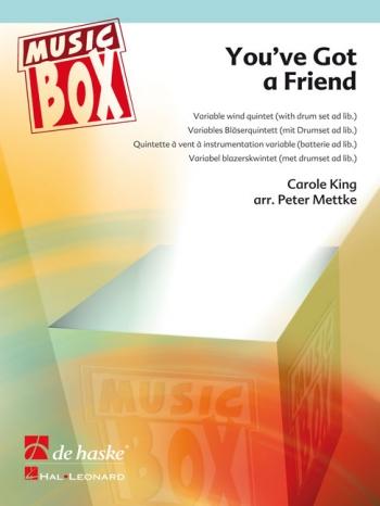 Youve Got A Friend: Variable Wind Quintet: Music Box: Sc & Pts