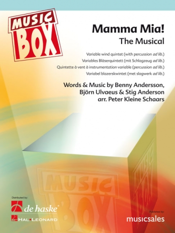 Mamma Mia! The Musical: Variable Wind Quintet: Music Box: Sc & Pts