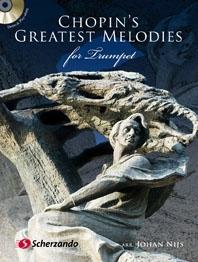 Chopin Greatest Melodies For Trumpet: Bk&CD (De Haske)
