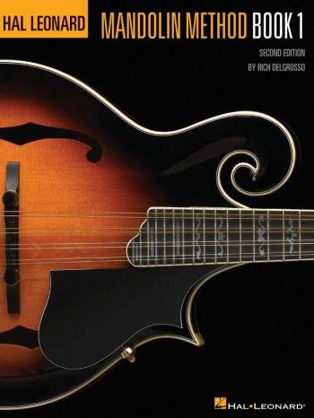 Hal Leonard Mandolin Method:  Bk 1: Bk&cd  (R Delgrosso) 2nd Ed