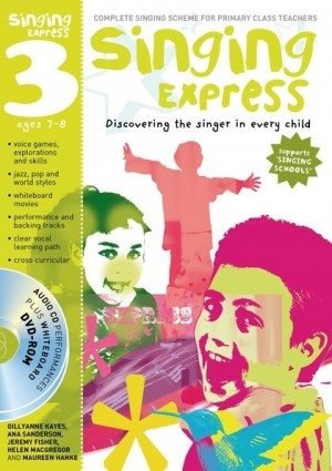 Singing Express 3 Teachers Book: Book And CD/DVD  (A & C Black)