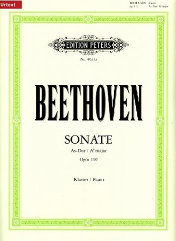 Piano Sonata Ab Major Op.110: Piano (Peters)
