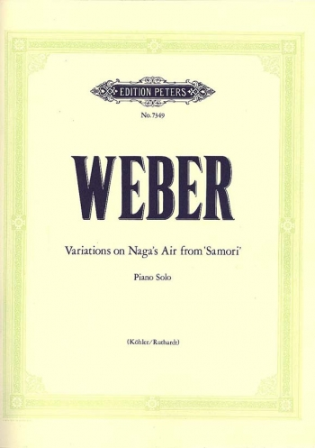 Variations On Nagas Air From Samori: Piano Solo (Peters)