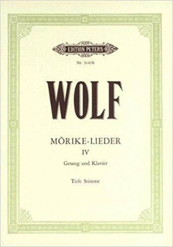 Morike Lieder: 53 Songs: Vol 4: Voice & Piano (Peters)