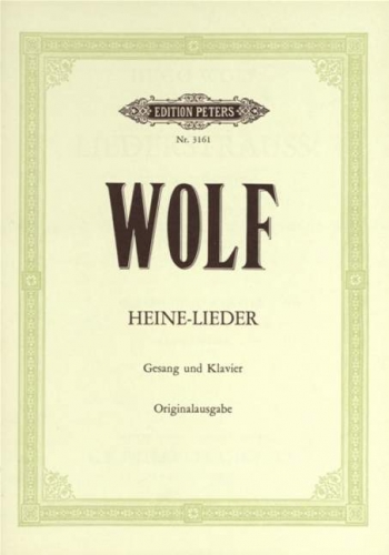 Heine Lieder: 7 Songs: Voice & Piano (Peters)
