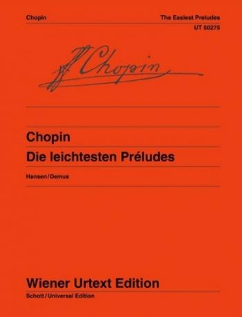 Die Leichtesten Preludes: Easiest Preludes: Piano (Wiener Urtext)