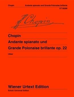Andante Spianato And Grande Polonaise Brillante: Op22: Piano (Wiener Urtext)