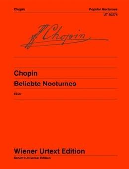 Beliebte Nocturnes: Popular Nocturnes: Piano (ed Ekier)(Wiener Urtext)