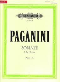 Sonata: A Major: Violin Solo (Peters)