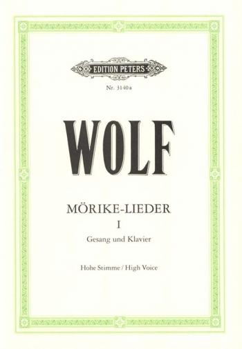Morike Lieder: 53 Songs: Vol 1: Voice & Piano (Peters)