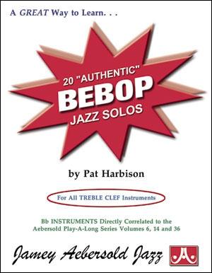 20 Authentic Bebop Jazz Solos