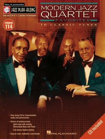 Jazz Play Along Vol.114: Modern Jazz Quartet Favourites