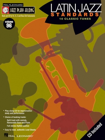 Jazz Play Along Vol.96: Latin Jazz Standards