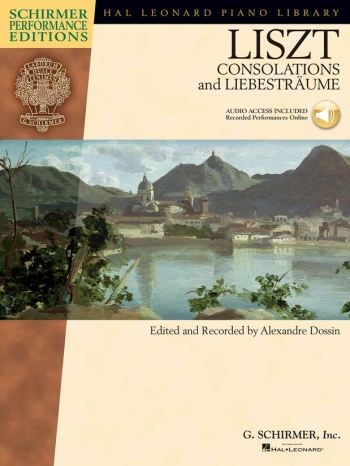 Consolations And Liebestraume: Piano