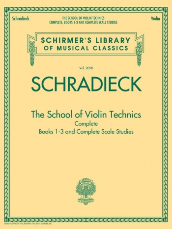 School Of Violin Technique: Complete: Violin