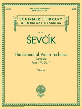 School Of  Violin Techniques: Complete