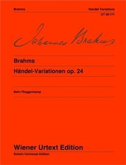 Handel Variations: Op 24: Piano (Wiener Urtext)