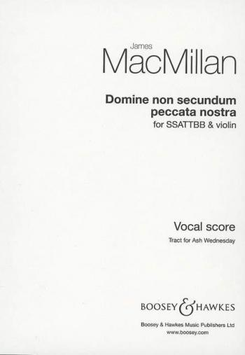 Domine Non Secundum Peccata Nostra: Satb And Violin