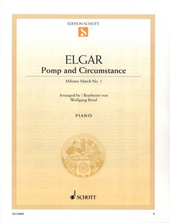Pomp And Circumstance Op39 No 1:  Piano