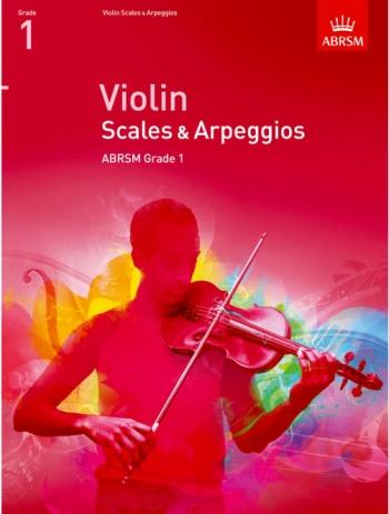 ABRSM Violin Scales & Arpeggios Grade 1
