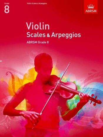 ABRSM Violin Scales & Arpeggios Grade 8