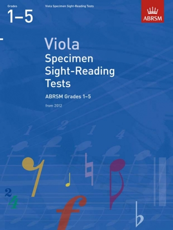 ABRSM: Specimen Sight-reading Tests: Viola: Grade 1-5 From 2012