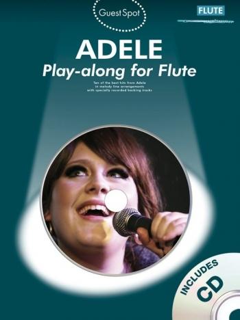 Guest Spot: Adele: Flute: Book & CD