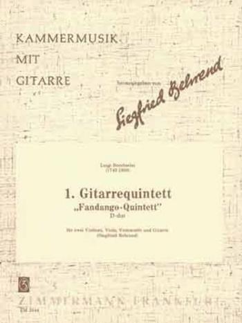 Guitar Quintet No 1 In D Fandango: GUitar & String Set