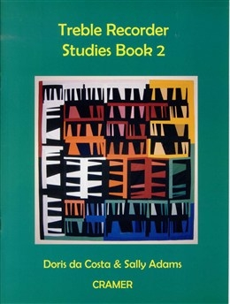 Treble Recorder Studies Book 2 (Da Costa/Adams) (Cramer)