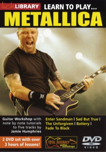 Lick Library: Learn To Play Metallica: DVD