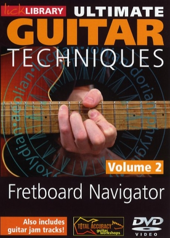 Lick Library: Ultimate Guitar Techniques: Fretboard Navigator: Vol 2: DVD