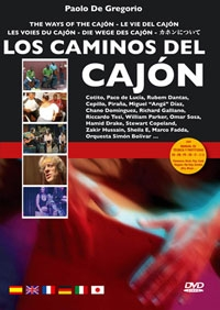 Los Caminos Del Cajon: The Ways Of The Cajon: DVD And Book