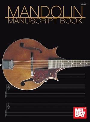 Mel Bay: Mandolin Manuscript Book