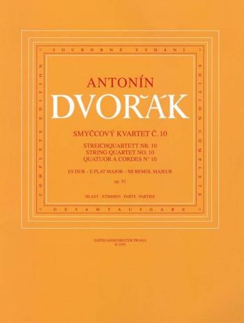 String Quartet: No10: Op51: Eb Major: Parts
