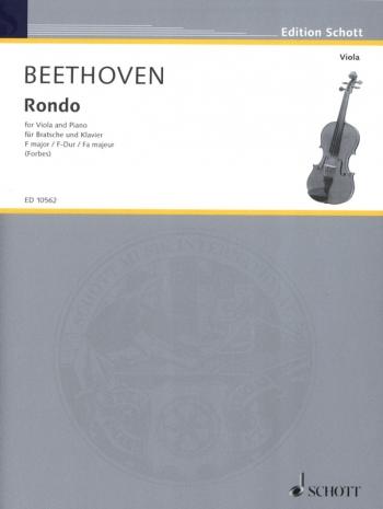 Rondo: Viola & Piano  (Schott)