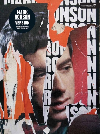 Mark Ronson: Version: Piano Vocal Guitar