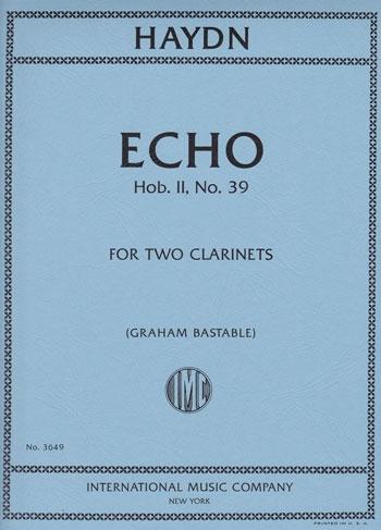 Echo: Hob.II No.39: Clarinet Duet