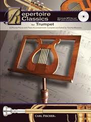 Repertoire Classics: Trumpet: Book & Cd