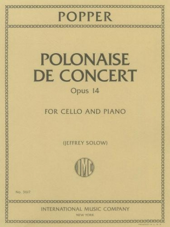 Polonaise: Op14: Cello & Piano  (International)