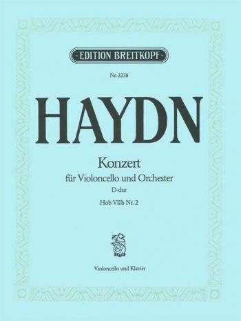 Concerto: D Major: Cello And Piano (Breitkopf)
