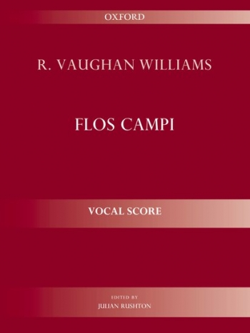 Flos Campi: Vocal Score Edited Rushton (Oxford)