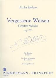 Forgotten Melodies: Op39: Piano (Zimerman)